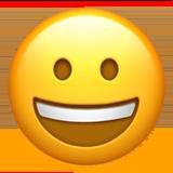 grinning