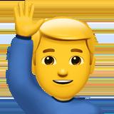 man-raising-hand