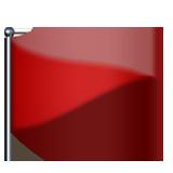 triangular_flag_on_post